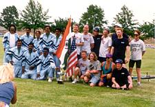 USA 1996 : India (1st) and the United States (2nd)